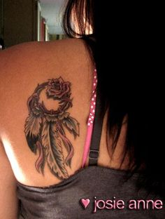 Dream Catcher Tattoos Tattoo Designs Pictures Ideas And Meaning Cherokee Indian Tattoos, Tribal Tattoos Native American, Native Tattoos, Tribal Tattoos For Women, Feather Tattoos, Body Art Tattoos, Cool Tattoos, Tatoos, Dreamcatcher Tattoos