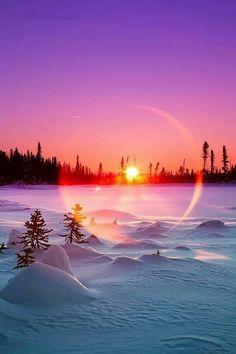 ✧ Mesmerizing Nature ✧ - Sunrise Glory Ed Boudreau Beautiful Sunset, Beautiful World, Beautiful Places, Landscape Photography, Nature Photography, Winter Szenen, Winter Sunset, Winter Light, Jolie Photo