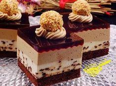 Dort Twilight s chutí cappuccina Polish Desserts, Polish Recipes, Cookie Desserts, Sweet Recipes, Cake Recipes, Dessert Recipes, Traditional Cakes, Food Cakes, Cake Cookies