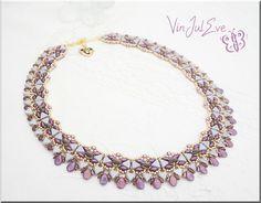 Bracelets, Schéma Collier Nacka est une création orginale de Vinjuleve sur DaWanda