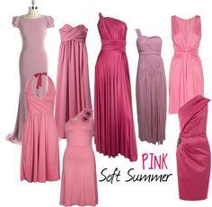 for color: soft summer pinks -thatgirl