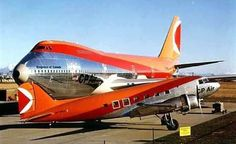 CP Air Douglas Dakota (front) & Boeing (back) Pacific Airlines, Canadian Airlines, Airplane Drone, Airplane Art, Boeing Aircraft, Passenger Aircraft, Commercial Plane, Commercial Aircraft, Helicopter Cockpit