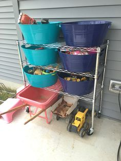 Delicieux Outdoor Toy Storage Diy Toy Storage, Pool Storage, Kids Storage, Outdoor  Toy Storage
