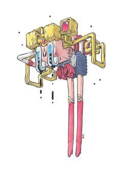 Arte Sailor Moon, Sailor Moon Fan Art, Art Pop, Street Art, Comics Illustration, Art Sculpture, Psychedelic Art, Art Design, Graphic