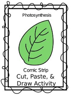 Free - Photosynthesis Comic Strip Cut, Paste, and Draw Activity