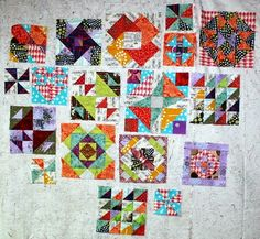 The Gypsy Wife Quilt- with block sizes