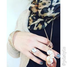 Rose gold is your perfect fall sparkle! #pdstyle