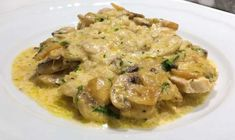 Risotto, Chicken, Meat, Cooking, Ethnic Recipes, Foods, Kitchens, Greek Dishes, Easy Meals