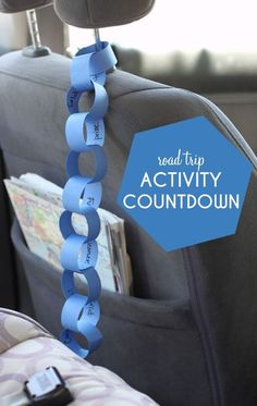 Activity Countdown Paper Chain Road Trip Activity Countdown Paper Chain, planning a family road trip? This simple craft is a life saver!Road Trip Activity Countdown Paper Chain, planning a family road trip? This simple craft is a life saver! Road Trip With Kids, Family Road Trips, Travel With Kids, Family Travel, Toddler Travel, Family Vacations, Road Trip Activities, Road Trip Games, Activities For Kids