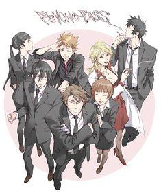 Ginoza Nobuchika, Makishima Shogo, Awesome Anime, Anime Love, Psycho Pass Kagari, Anime Manga, Anime Art, Manga Story, Anime Family