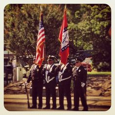Little Rock Police Honor Guard