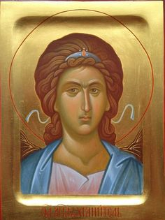 L'image contient peut-être : 1 personne Religious Icons, Religious Art, Byzantine Icons, Art Icon, Orthodox Icons, Cherub, Madonna, Disney Characters, Fictional Characters