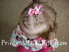 Great little girl hairstyle blog, including lots of baby hair ideas.