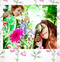 #Spring. #Follow #PolaroidFx #Polaroid #Frame #Instant #Kids #Children #Play #Playing #Flower #Flowers #Nature