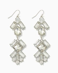 charming charlie | Oh My Icicle Earrings | UPC: 410007192842 #charmingcharlie