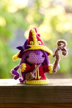 League of Legends - Lulu Amigurumi Doll by ~Sushumo on deviantART