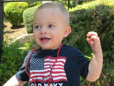 Bruno, age 2, dancing to the music at a 4th of July parade. Submitted by Sara. -- Choose your favorite photo and submit your vote by August 6, 2012 for a chance to win a gift card for children's books!