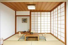 Japanisches Zimmer in Lärche