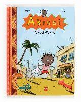 """""""Akissi:Ataque gatuno"""" de Marguerite Abouet.  ¡Pobre Akissi! Todo le sale mal: los gatos del vecindario la persiguen para comerse el pescado que lleva en una bolsa; su monito Bubu se pierde y está a punto de acabar en una cazuela ; su hermano Fofana la chincha... Pero, a pesar de todo, Akissi nunca pierde las ganas de divertirse.  """"Akissi: ataque gatuno"""" cuenta las aventuras de una niña africana en su día a día, sin paternalismos ni azúcar añadido. Akissi es una niña de verdad.  CÓMIC"""