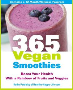 365 Vegan Smoothies Book.
