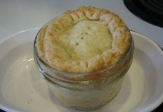 Simple Simon (pie in a jar) - I love this idea so much!  No more baking whole pies for just two people!!  And being able to freeze them....even better!!