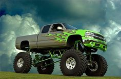 This great looking 2002 Chevy Monster Truck has been on display at several Kansas City area Truck shows.