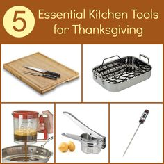 5 Essential Kitchen Tools for Thanksgiving #eBayGuides #Gadgets #spon