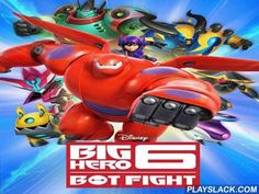 Big Hero 6: Bot Fight  Android Game - playslack.com , Join the heroes of a famous wit and act in non-stative bot combat. equal lines of same slabs to make your team mighty. support the heroes fight delinquents and crazy robots in this Android game. Use your thinking and make a group of distinct collections from multicoloured slabs to support the larvas to ambush the foe. Create your own group of hundreds of distinct robots. improve your robots changing different information. Make your team…
