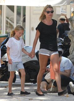 KATE MOSS DAILY: Kate + Lila