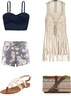 """Coachella Day 2"" by gleekygeek on Polyvore"