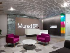 murad skincare office interiors by shubin donaldson architects el segundo california retailand awesomely neat brazilian design milbank office