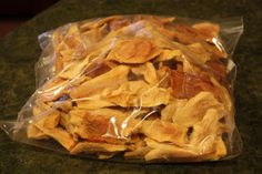 Dried Pears. (Sweetened with pineapple juice)