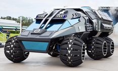 Mars Rover Concept Vehicle (2017)