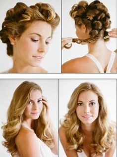 Wedding Hairstyle for Long Hair - Want to do it yourself? Click on the image for the tutorial!