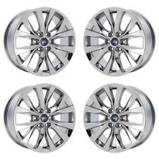 20 Ford F150 Truck Pvd Chrome Wheels Rims Factory Oem 2017 2018