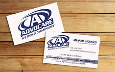 ADVOCARE Business Cards  Advocare Independent Distributor