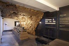 Aesop pop-up store at Merci by March Studio, Paris
