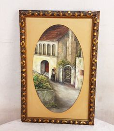 Keeping you in the know-- #greystonetreasures #buyanoriginal  http://greystonefinefurniture.com/products/original-oil-painting-of-mediterranean-woman-on-street-with-oval-mat-and-gold-rectangular-frame-85?utm_campaign=social_autopilot&utm_source=pin&utm_medium=pin