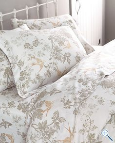 Signature Wrinkle-Resistant Toile Sateen Bedding by Garnet Hill
