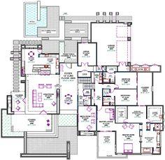 Unique house plans | Custom House Plans, Southwest Contemporary Custom Home Design, Custom ...