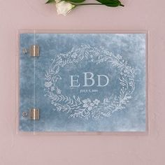Clear Acrylic Wedding Guest Book - Modern Fairy Tale Etching - Marry Me Wedding Accessories & Gifts - 1 Wedding Guest List, Wedding Gifts For Guests, Wedding Guest Book Alternatives, Card Box Wedding, Wedding Book, Wedding Ideas, Wedding Souvenir, Dream Wedding, Wedding Details