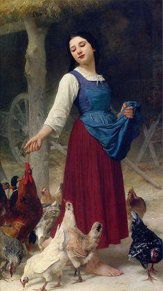 Elizabeth Jane Gardner Bouguereau_The Farmers Daughter   Flickr - Photo Sharing!