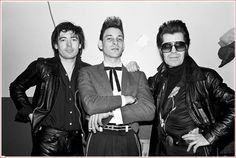 ♫'''Chris Spedding, Robert Gordon and Link Wray backstage at the Lone Star in New York City on February 14, 1979. February 14, 1979| Crédits : Ebet Roberts...☺...'''♫ http://www.gettyimages.fr/detail/photo-d'actualit%C3%A9/chris-spedding-robert-gordon-and-link-wray-backstage-photo-dactualit%C3%A9/507741440
