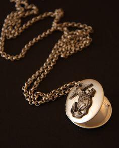 Love my Marine Locket by herhero on Etsy. $29.50, via Etsy.
