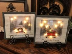 Light Up Holiday Bag Art Light Up Holiday Bag Art,Christmas 2019 Radiance DYI String Light Bag Art.Gather all your supplies. In my case I used a wood frame so I took out the glass. Christmas Ornament Wreath, Christmas Gnome, Christmas Bags, Simple Christmas, Christmas Holidays, Christmas Wreaths, Christmas Decorations, Christmas Ideas, Christmas Carol