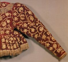 Russian Embroidery - Yepancha folk jacket