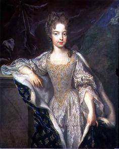 portrait 1685 | Bild: Jean François de Troy - Portrait of Adelaide of Savoy (b.1685)