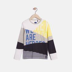 Tee-shirt à découpes garçon IKKS | Mode Garcon Eté 16 (XH10143)