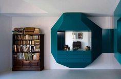Niektórzy lubią biel i minimalizm, inni preferują wnętrza bardziej wyraziste. Do tych drugich należy architekt Pedro Gadanho, który, projektując wnętrza domu w Porto, dał wyraz swojemu zamiłowaniu do mocnych kolorów. http://sztuka-wnetrza.pl/715/artykul/kolor-rzadzi