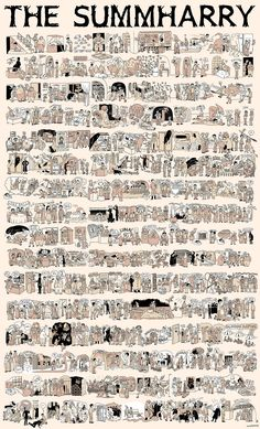 All of Harry Potter Summarized in a Single Comic #Summharry giant harry potter comic_resized